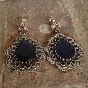 Jewelry - SAPPHIRE TOPAZ EARRINGS 👌👌👌