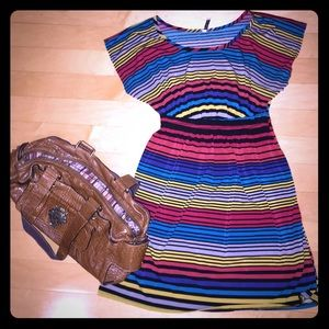 Striped dress- size M/L