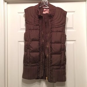 Juicy Couture Jackets & Blazers - Juicy Couture Puffer Vest!🍁🍂