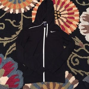 Nike Tops - Nike • Black zip-up hoodie
