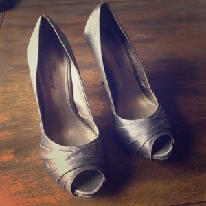 Lulu Townsend Shoes - Lulu townshed grey heels