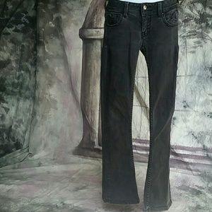 Sz 0 VIGOSS Skinny Fit Boot Cut Jeans
