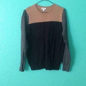 Color Block Sweater Top