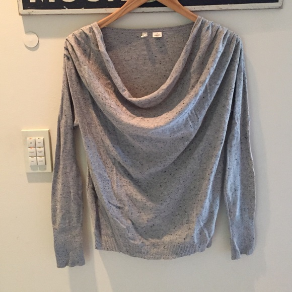 81% off Anthropologie Sweaters - anthropology moth cowl neck ...