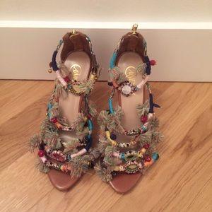 Candela Pom Pom sandals