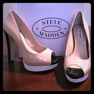 Steve Madden Riottt Blush Mult Size 10 heels.