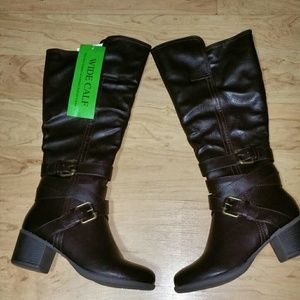 Nicole by Nicole Miller Shoes - NWOT Nicole Wide Calf Boots