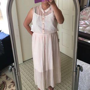 MAison Jules chiffon dress