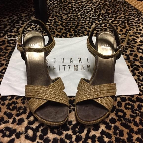 2e84a4b5f5097 Stuart Weitzman Shoes | Minx Wedge Sandals | Poshmark