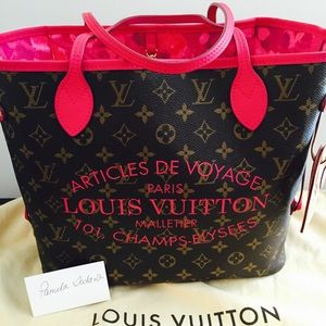 Louis Vuitton Handbags - Authentic Louis Vuitton Ikat Neverfull MM