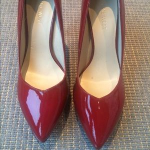 Nine West Shoes - High heels, bright red. Nine West, worn twice.