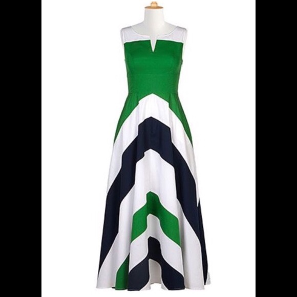 3beeccfab068 Eshakti Dresses | On Hold For Sher Chevron Maxi Dress 22 | Poshmark