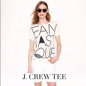 J. Crew Tops - Cool Jcrew tee