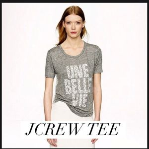 J. Crew Tops - Cool tee. Looks great w everything