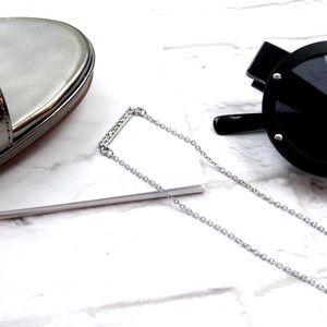 Rebecca Minkoff Jewelry - Pave Bar Necklace