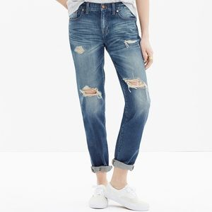Madewell Boyfriend Torn-Up Edition, Size 25