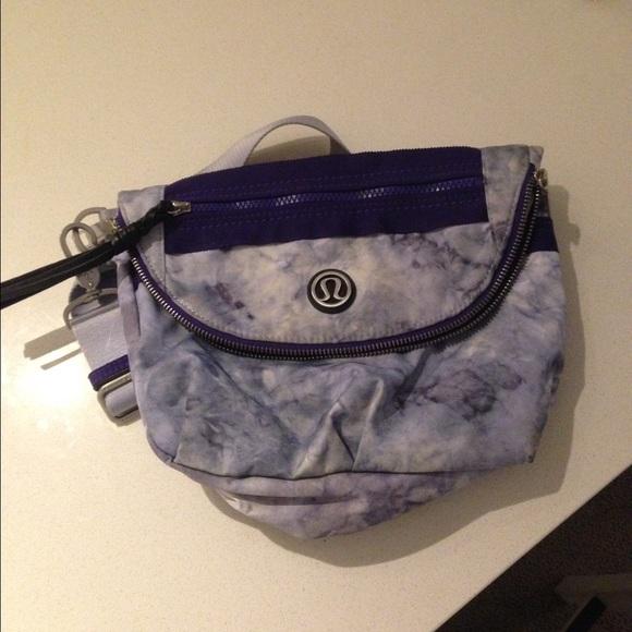 c0cb628ebc97 lululemon athletica Handbags - Lululemon Cross Body! Fun purple tie dye 🍋