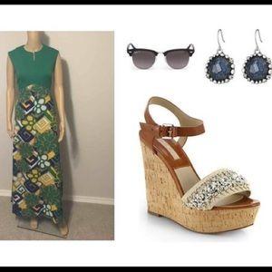 ☑️70's VINTAGE☑️ maxi dress