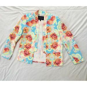 River Island Jackets & Blazers - Neon floral blazer by River Island