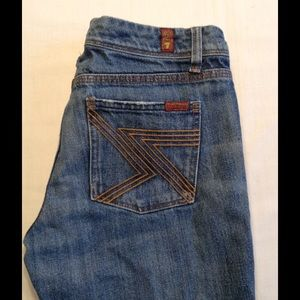 7 For All Mankind 7FAM Flynt Bootcut Jeans 29 x 31