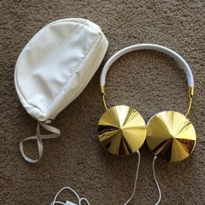 Frends Accessories - Frends Headphones - White/Gold