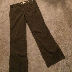 J.Crew city fit brown chino pants