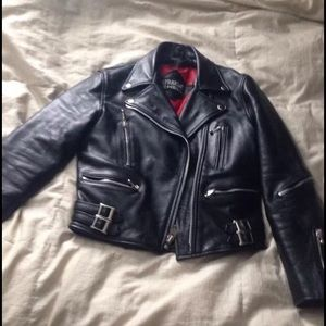 Straight to hell - Straight to Hell Leather Jacket from ...