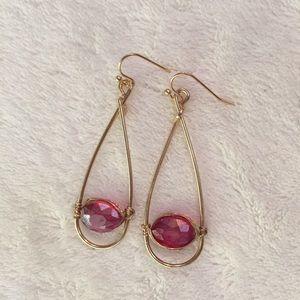 Jewelry - NWOT jeweled gumdrop earrings