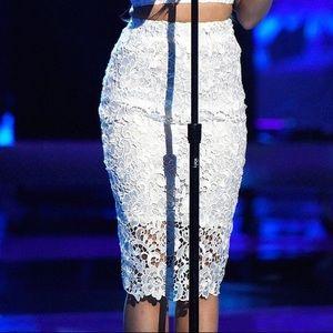 Dresses & Skirts - White lace skirt