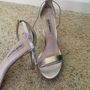 ee2afeda4f9 Steve Madden Shoes - Steve Madden Stecy Pump- Silver size 7