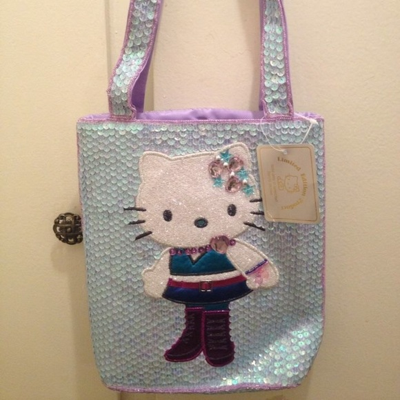6263e66e4 Sanrio Bags | Hello Kitty Sequin Purse | Poshmark
