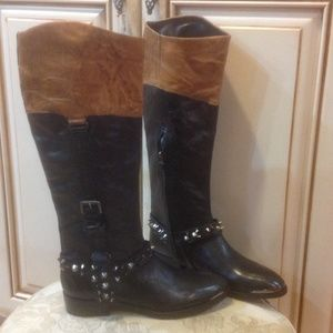 New Sam Edelman leather boots