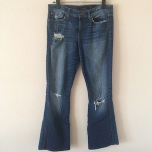 Distressed Boot Cut Joes Jeans