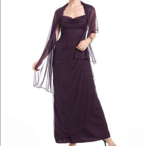 Xscape Dresses & Skirts - Xscape purple/ plum formal/ night dress