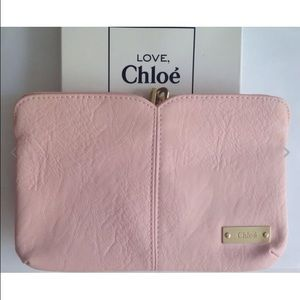 Chloe leather clutch on Poshmark