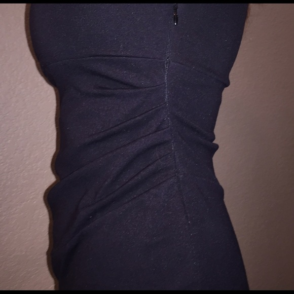 Size 0 black dress grey