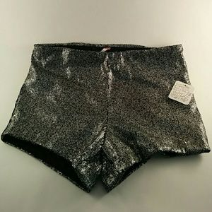 Free People Pants - Free People high waisted sequin shorts NWT