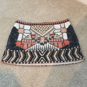 All Saints Aztec Skirt US 4