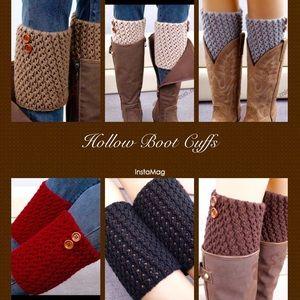 Accessories - Got Married Sale  | Cute Hollow Boot Cuffs