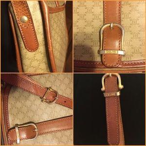 6134e947e53 Celine Bags   Saleauthentic Vintage Tan Crossbody Bag   Poshmark