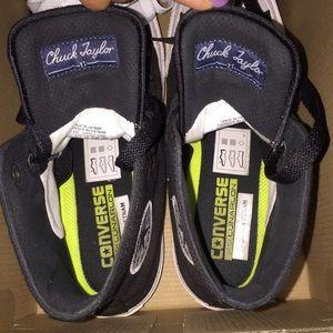 ad14d2e52e955 Converse Shoes - Black high top converse shoes with box