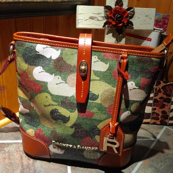 005818e01a Dooney   Bourke Handbags - Dooney   Bourke Robertson Collection Camo Duck