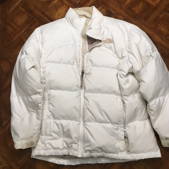 79% off The North Face Other - girls white winter coat from ...