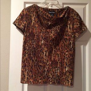 Dresses & Skirts - Leopard print skirt set