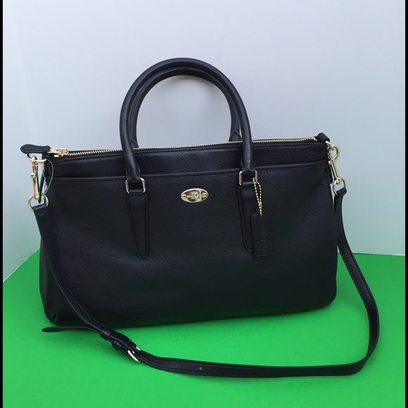 a3a2bf5833 ... pebble leather saddle satchel shoulder bag f35185 140.0 6ad9b d0e2f;  coupon code for new authentic coach morgan satchel black 2437d 7f68c