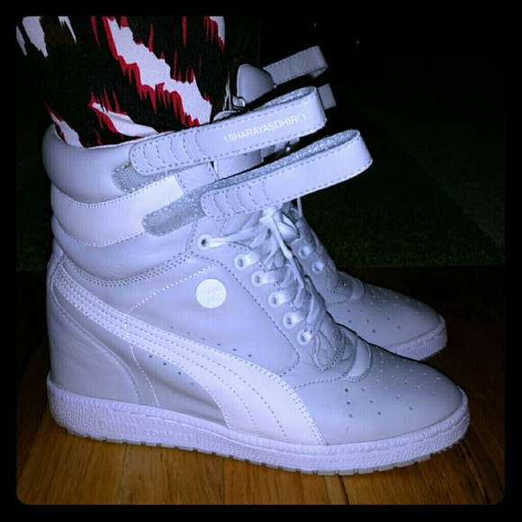 Puma Mihara Yasuhiro MY-66 wedge sneaker. M 563ffd477fab3a90e901e879 a0c6c4fa4