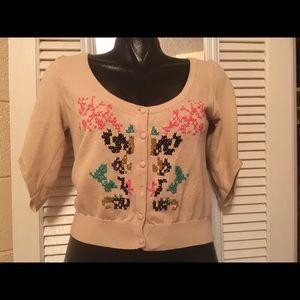 numph Sweaters - Modcloth Crossstitch cardigan