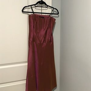 Nicole Miller strapless dress. Size 8