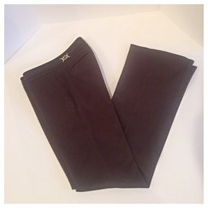 Gucci Chocolate Brown Cotton Blend Pants