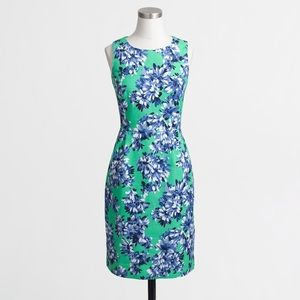 J. Crew Photo Floral Cotton Dress